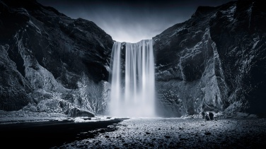 Kinda-Blue-In-The-Presence-of-Skógafoss-Mabry-Campbell