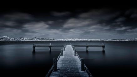 Kinda-Blue-~-White-Rock-Lake-Pier-T1-Mabry-Campbell