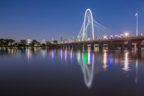 Margaret-Hunt-Hill-Bridge-Over-The-Flooded-Trinity-River-Mabry-Campbell