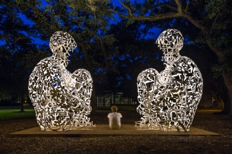 Mirror-Sculpture-At-Rice-University-Houston-Mabry-Campbell