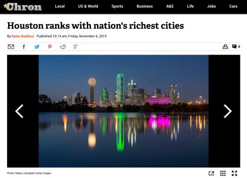 Published-I Am Dallas Skyline-Houston Chronicle-Nov 2015