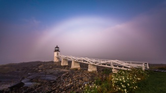 Rainbow-Over-Marshall-Point-Lighthouse-II-Mabry-Campbell