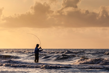 The-Fly-Fisherman-At-Sunrise-Mabry-Campbell