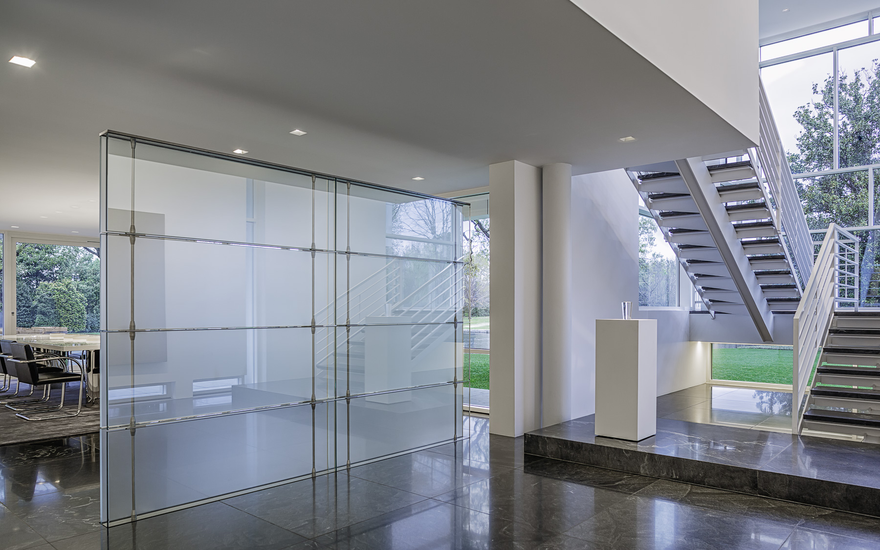 The Rachofsky House – Retractable Glass Wall   Mabry Campbell Photo Blog