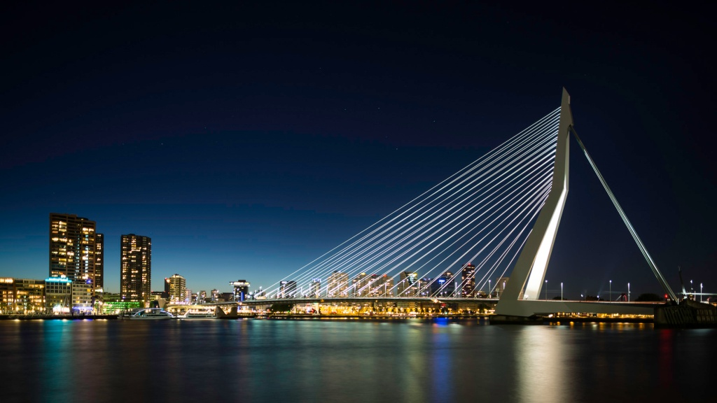 Erasmusbrug-At-Night-Mabry-Campbell