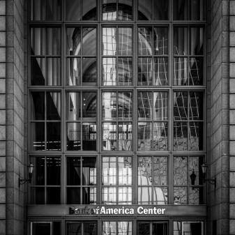 700 Louisiana Glass Entrance