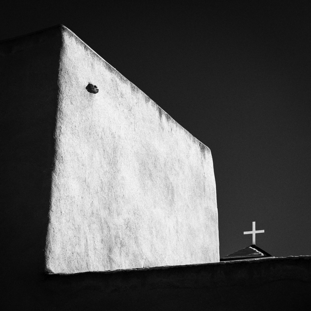 San Francisco de Asis Mission Church in Rancho de Taos, New Mexico, USA