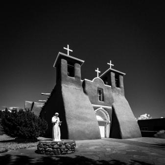San Francisco de Asis Mission Church in Rancho de Taos, New Mexico, USA